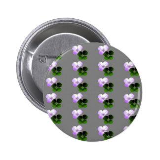 Trébol violeta pins