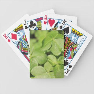 Tréboles Baraja Cartas De Poker