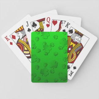 Tréboles Cartas De Póquer