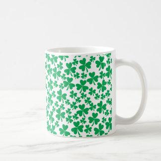 Tréboles múltiples taza de café