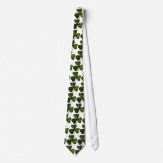 Tréboles verdes 3-Leaf Corbata Personalizada