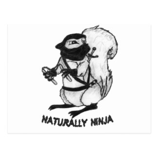 Treerat Ninja Tarjetas Postales