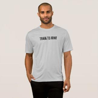 Tren a cazar, cazar para vivir camiseta