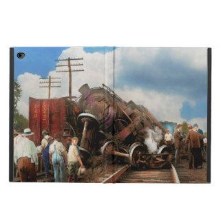 Tren - accidente - cabezas que empalman 1922
