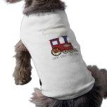 Tren Choo Choo Camiseta De Perrito