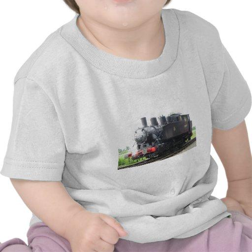 Tren del vapor del tanque del yanqui camiseta