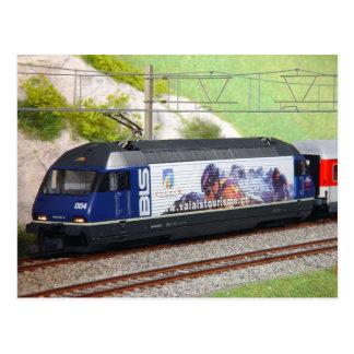 Tren expreso suizo postal