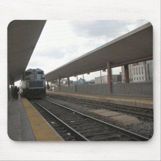 Tren Los Ángeles céntrico Mousepad Tapete De Ratones