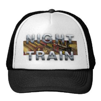 Tren nocturno de la CAMISETA Gorros