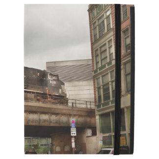 """Tren - PA de Pittsburg - la ciudad industrial Funda Para iPad Pro 12.9"""""""