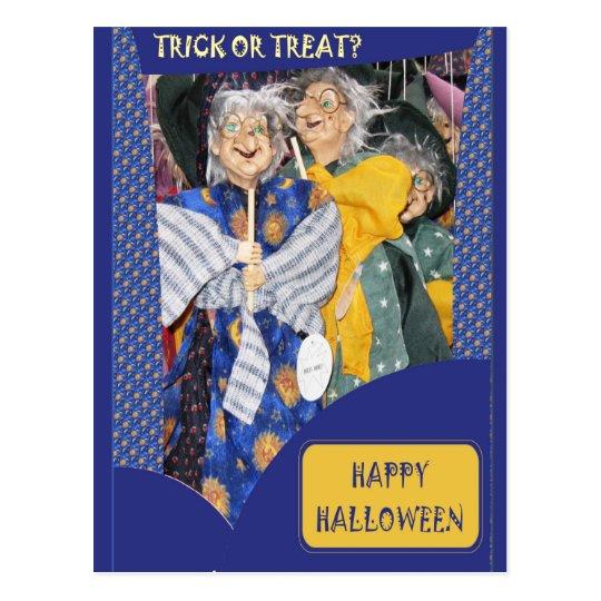 Tres brujas postal