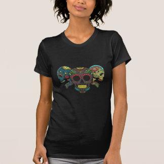 Tres Calavera Camiseta