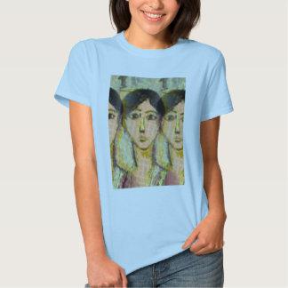 Tres caras: Homenaje a Matisse Camisetas