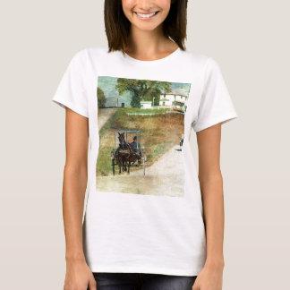 Tres cochecillos de Amish Camiseta