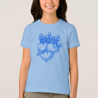 Tres corazones y coronas camisas