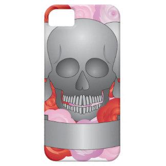 Tres cráneos con la bandera funda para iPhone SE/5/5s