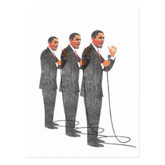 Tres juegos - inauguración de Obama Postal