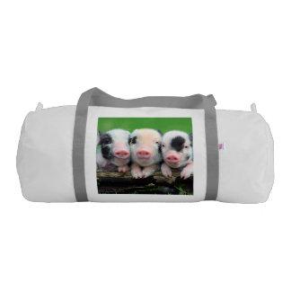 Tres pequeños cerdos - cerdo lindo - tres cerdos bolsa de deporte