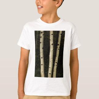 Tres pilares del bosque camiseta