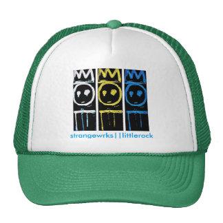 Tres reyes Mesh Hat Gorros Bordados