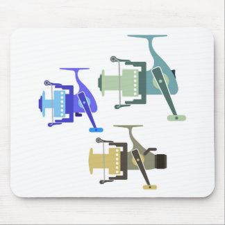 Tres tipos de ejemplo de giro del vector de los alfombrilla de ratón