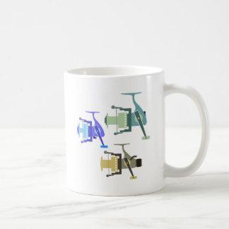 Tres tipos de ejemplo de giro del vector de los taza de café