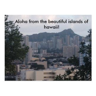 TRESMARIE 031, hawaiana de las islas hermosas… Postal