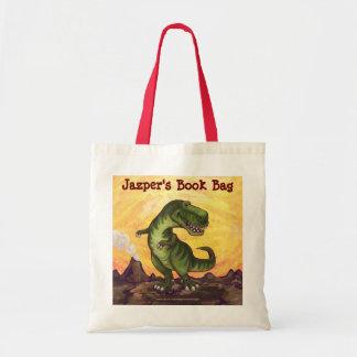 TRex personalizó la bolsa de libros
