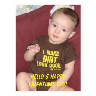 ¡Trey 2a, hola y día de San Valentín feliz! Postal