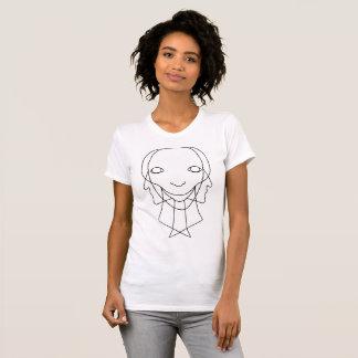Tri camiseta de la cara (luz)