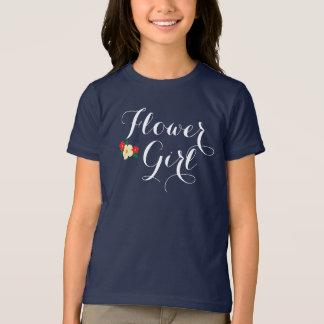 Tri Flor del florista Camiseta