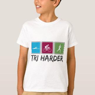 Tri más duro (Triathlon) Camiseta