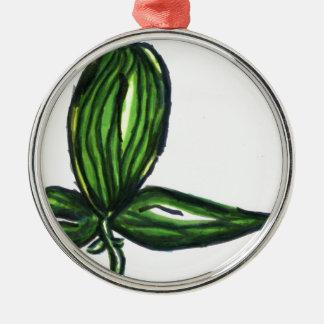 Tri planta del Uno Ornaments Para Arbol De Navidad