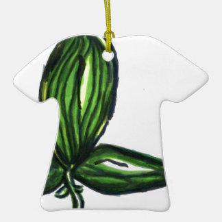 Tri planta del Uno Adorno De Cerámica En Forma De Camiseta