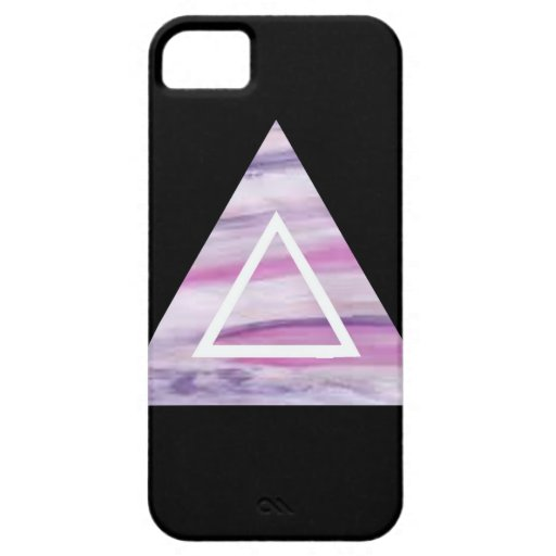 Triangle Hipster iPhone 5 Fundas