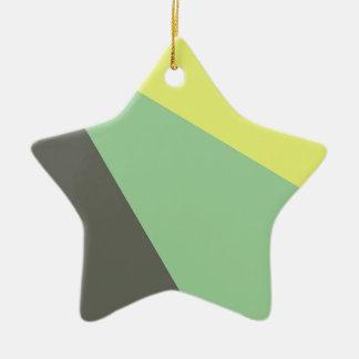 triángulo - azul amarillo ornamentos para reyes magos