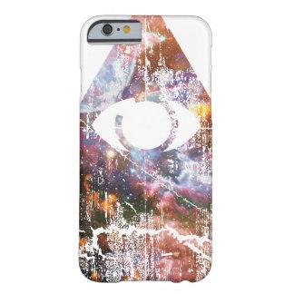Triángulo de la galaxia funda de iPhone 6 barely there
