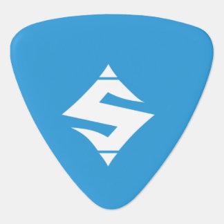 Triángulo de la púa de guitarra del SUMO