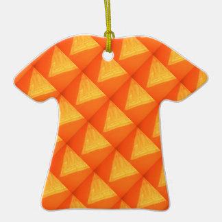 Triángulo de oro: Impresión DE SEDA de la celebrac Ornamentos Para Reyes Magos
