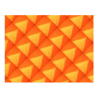 Triángulo de oro: Impresión DE SEDA de la Postal