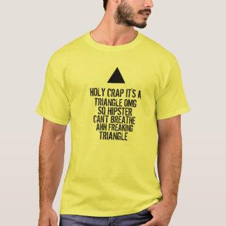Triángulo del inconformista de OMG Camiseta