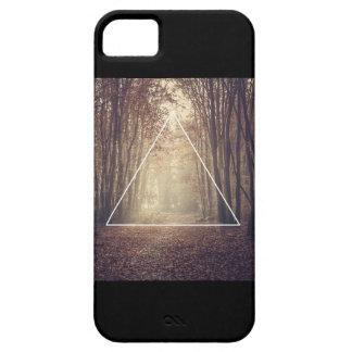 Triángulo del inconformista iPhone 5 Case-Mate protectores