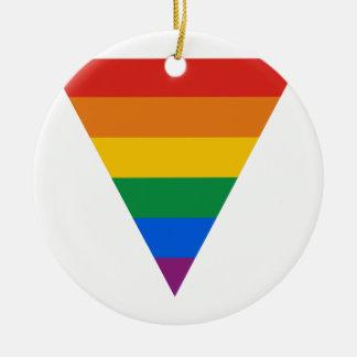 Triángulo del orgullo gay ornato