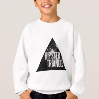 Triángulo divertido del inconformista sudadera