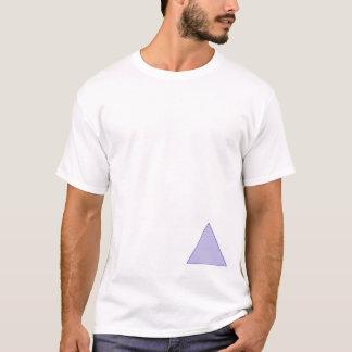 Triángulo excéntrico camiseta