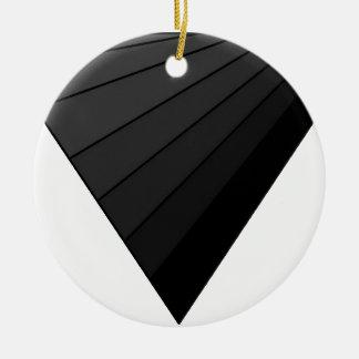 Triángulo invertido arte ornamento de reyes magos