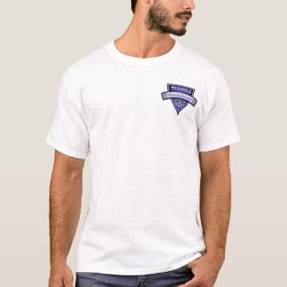 Triángulo que completa un ciclo T básico Camiseta