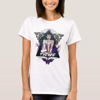 Triángulo tribal de la Mujer Maravilla Camiseta