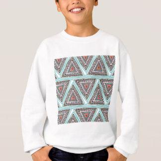 Triángulos aztecas sudadera