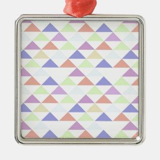 Triángulos coloridos ornatos
